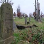 Jüdischer Friedhof in Czieschows, Dezember 2014