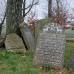 Jüdischer Friedhof in Czieschowa, Dezember 2014