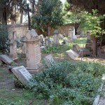 Blick über den Jerusalemer Templer-Friedhof